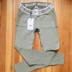 Gymshark flex leggings- khaki/sand